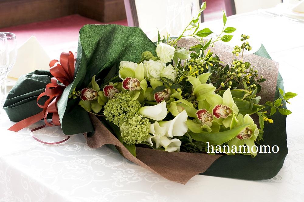 ウェディングの花 贈呈用花束