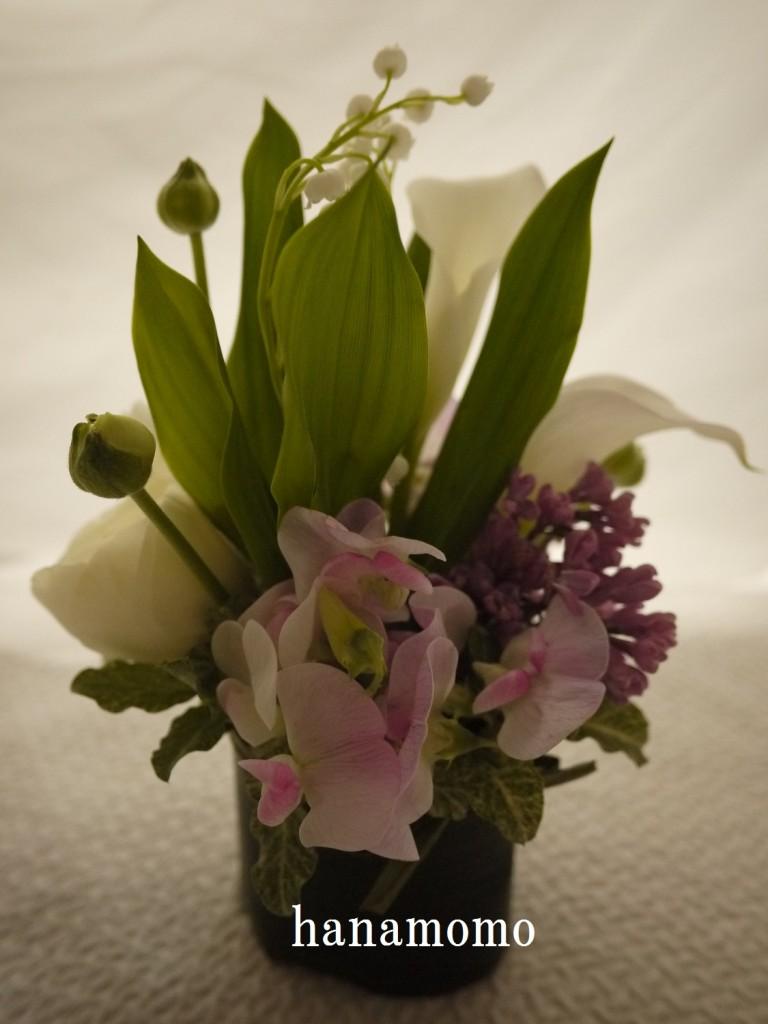 ウェディングの花 ゲスト花
