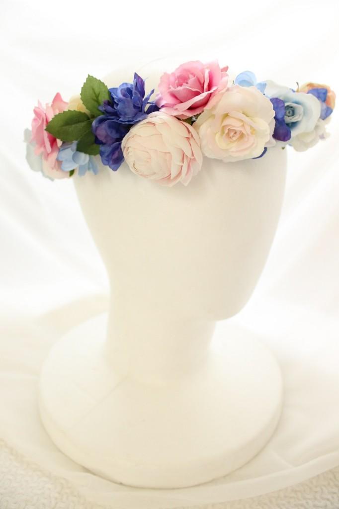 アートフラワー花冠
