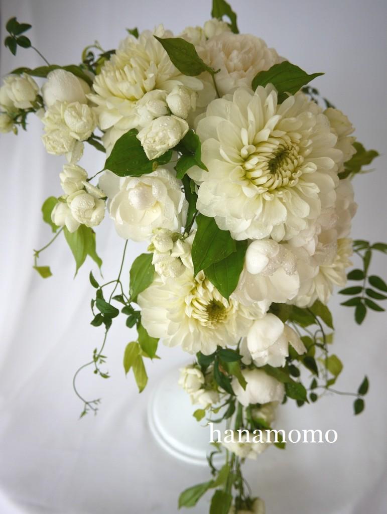 ウェディングブーケ hanamomo
