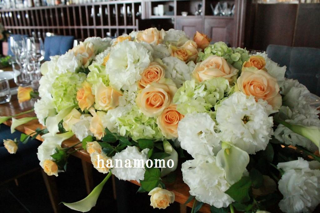 ウェディングの花
